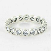 Pandora 190942CZ Ring Eternity Cubic Zirconia Sterling Silver Sz 7.5 56 ... - $53.34