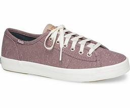 Keds WF59240 Women's Kickstart Fleck Mauve Shoes, 7.5 Med - $39.55