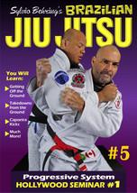 Sylvio Behring Brazilian Jiu Jitsu Progressive #5 Seminar #1 takedowns DVD - $22.00