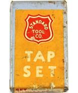 Vintage Standard Tool Co. Tap Set 10-32 N.F. H-3 Set of Three - $15.83