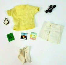 Vintage Ken Doll  Clothes - Vintage Ken #780 In Training Weights and Boo... - $23.21