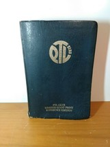 The PTL Club GIANT PRINT Reference Edition Bible KJV 1972  - $21.78