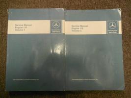 1976 1984 MERCEDES Engine 110 Volume 1 2 Service Repair Shop Manual FACT... - $222.74