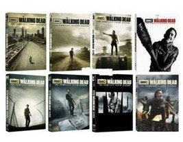 The Walking Dead Complete Seasons 1-8 DVD Set Collection Series Brand New - $98.99
