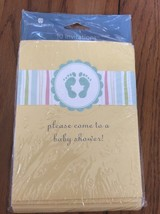American Greetings 10 Count Invitations Includes Guest Checklist  Ships N 24h - $4.94