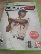 MicroSoft XBox 360 Major League Baseball 2K8 image 1