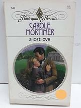 Lost Love Carole Mortimer
