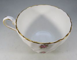 Vintage Aynsley Porcelain Tea Cup Hathaway Bone China Pink Roses England image 6