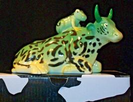 CowParade Mother Frog Item # 9207 Westland Giftware AA-191894 Vintage Collectib