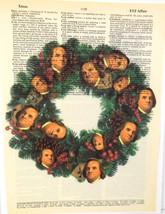 ArtN Wordz A Wreath of Franklin Original Dictio... - $21.00