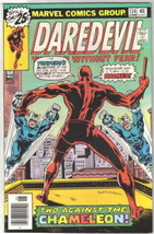 Daredevil Comic Book #134 Marvel Comics 1976 VERY FINE- - $12.59