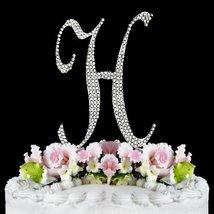 RaeBella Weddings Completely Covered Swarovski Crystal Silver Wedding Cake Toppe - $10.67