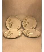 4 Rosenthal Sommerbluten Summer Blossoms 3187 dinner Plate 9.75 inch Vin... - $49.49