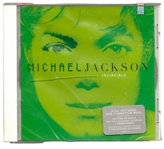 Invincible CD by Michael Jackson Limited Edition Green Cover Include Unb... - $89.90