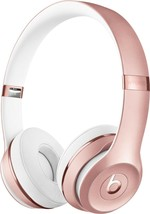 Beats by Dr. Dre - Solo³ Wireless On-Ear Headphones - Rose Gold - new (bb) - $192.05