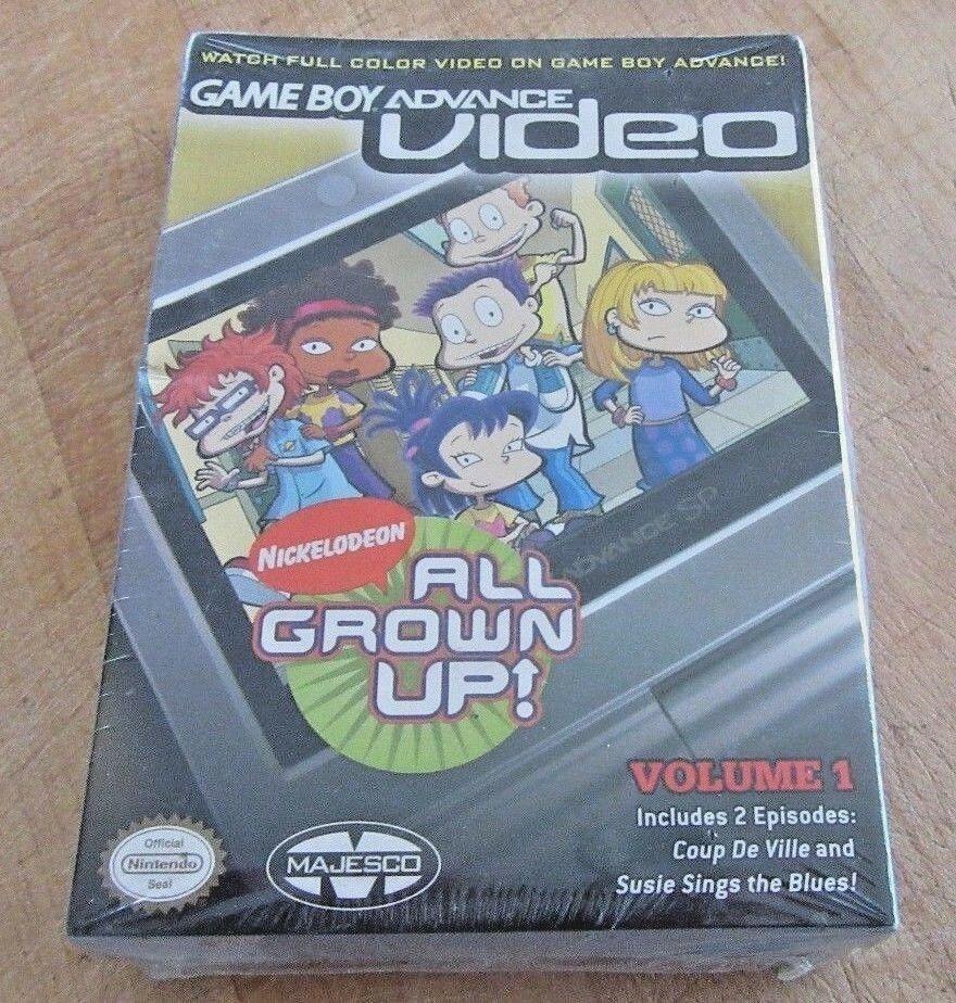 Game Boy Advance Video: All Grown Up, Vol. 1 (Nintendo Game Boy Advance, 2004)