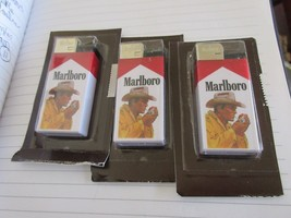 Marlboro Cigarette Lighters , Vintage , New/Old Inventory , Mixed  Lot o... - $94.05