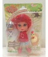 County Kinz Farm Girl Doll and Friend Robyn with Holly Hen New 4+ - $11.99