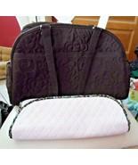 Vera Bradley Bowler Baby Bag In Espresso Microfiber NWT - $75.00