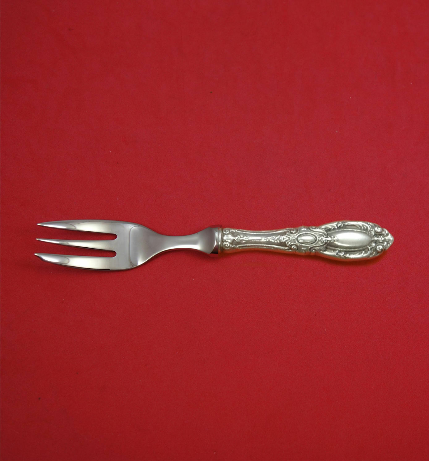 "Primary image for King Richard by Towle Sterling Silver Caviar Fork 3-Tine HHWS 6 1/4"" Custom Made"