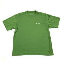 Columbia Men's Green Shirt Size L Large OMNI-WICK Outdoor Athletic Breat... - $17.83
