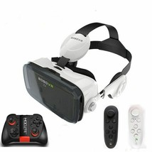 VR Virtual Reality 3D Glasses Headset Helmet Cardboad Box Bluetooth Cont... - $56.76 CAD+