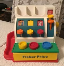 Fisher Price Classics Retro Cash Register - Inspired By 1975, Includes 3... - $14.25