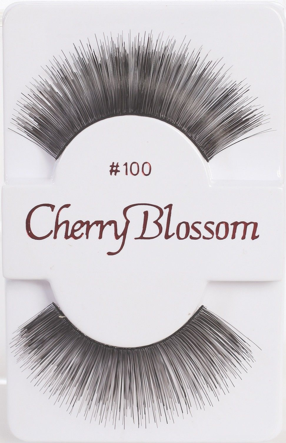 Primary image for CHERRY BLOSSOM EYELASHES MODEL# 100 -100% HUMAN HAIR BLACK 1 PAIR PER PACK