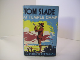 Tom Slade At Temple Camp by Percy K. Fitzhugh, 2nd book in the Tom Slade... - $19.99