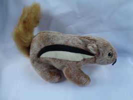 "TY 1999 Chipper The Chipmunk Beanie Baby 7"" Long image 3"