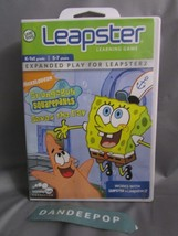LeapFrog Leapster Spongebob Squarepants Saves The Day Video Game Cartrid... - $7.91