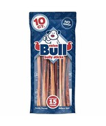 ValueBull Premium Bully Sticks, Thin 12 Inch, 10 Count, Natural Dog Chew... - $37.19