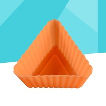 2Pcs Triangle Silicone Cupcake Mold Reusable Cake Liners Mould Tray for ... - £12.97 GBP