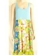 1 Matilda Jane dress XL Good Hart Farmers Market tank dress colorful flo... - $49.49