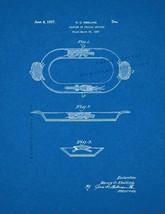 Platter Patent Print - Blueprint - $7.95+