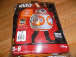 Child One Size 5-7 Disney Star Wars Inflatable Deluxe BB8 Halloween Cost... - $48.00