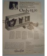 Vintage Bonnie Bell Beauty Basics Print Magazine Advertisement 1966 - $6.99