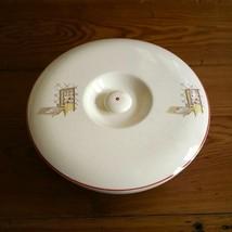 Vintage Universal Cambridge Mass Glazed Ceramic Ovenproof Serving Bowl Dish Lid - $10.39