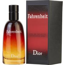 Fahrenheit By Christian Dior Edt Spray 1.7 Oz 100% Authentic - $67.76+