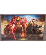 Avengers Iron Man Suits Glossy Art Print 11 x 17 In Hard Plastic Sleeve - $24.99