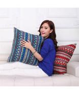 Vintage Home Decor Nation Style Cushion Cover Sofa Car Cotton Linen Pill... - $6.79+