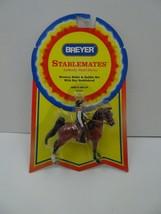 Vintage Breyer Stablemates 5202 Western Rider Saddle Set Bay Saddlebred MOC - $27.99