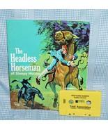 The Headless Horseman of Sleepy Hollow 1970 Read-Along Classic Book Cass... - $21.05