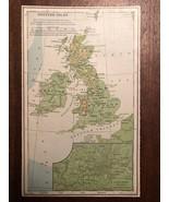 """Vintage Color UNITED KINGDOM UK ENGLAND  Print Plate 5.5"""" x 8.5"""" Unframed - $14.00"""
