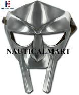 MF Doom Rapper Madvillain Gladiator Mask Spartan Armor Helmet Gladiator ... - $79.00
