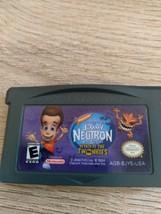 Nintendo Game Boy Advance GBA Nickelodeon Jimmy Neutron: Attack Of the Twinkies image 2
