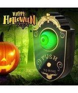 Halloween Decorations Doorbell Scary Eyeball Animated Haunted House Spoo... - $25.49