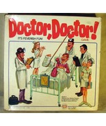 Doctor Doctor Board Game by Ideal 1978 - $25.73