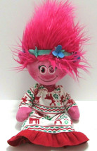 "Trolls Poppy Poppies Dreamworks 18"" Plush Doll 2016 w/ Bonus Doll Nightgown - $29.69"