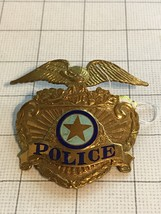Obsolete Los Angeles Police Badge #33 - $85.00